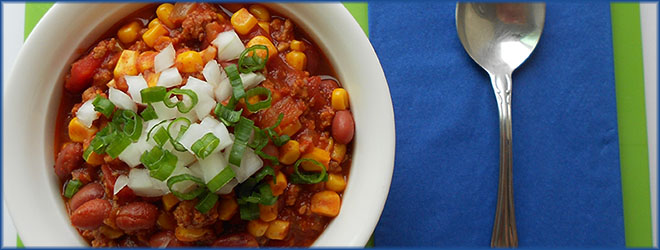 Goodness, Gracious, Great Bowls of Chili!