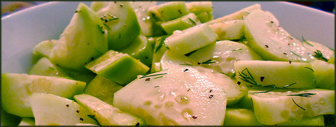 Stayin' Cool with Cucumber Salad