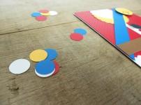 coordinating colors for confetti